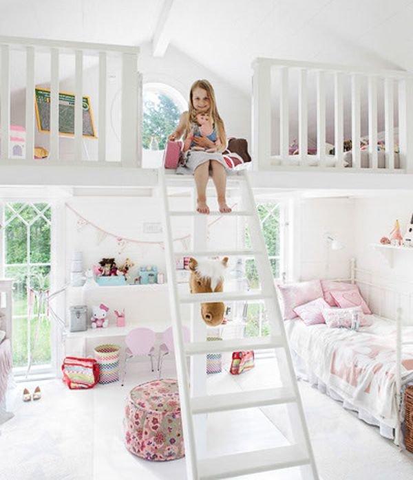 Kids Room Decor Ideas Pinterest: Egy Kislány Szoba Nemcsak Rózsaszín Lehet!
