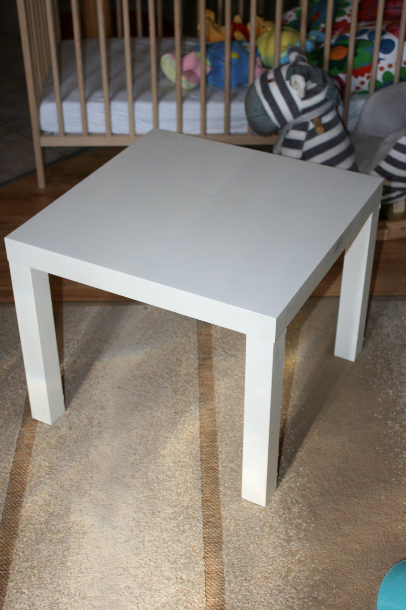 Ikea lack asztal kicsit m sk ppen lak sm v szet for Mesa de ninos ikea