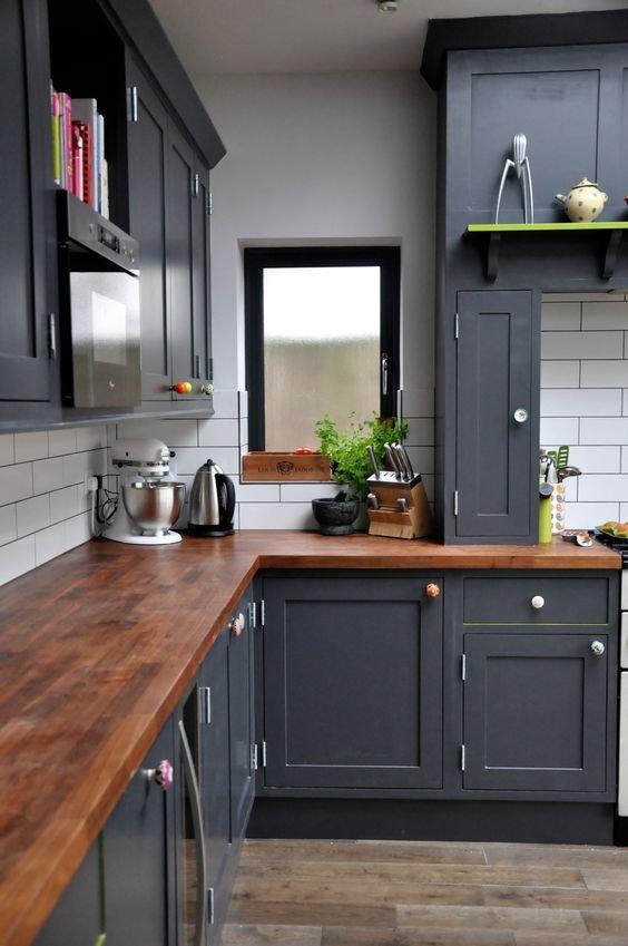 A szürke 50 árnyalata a konyhában!   Lakásművészet